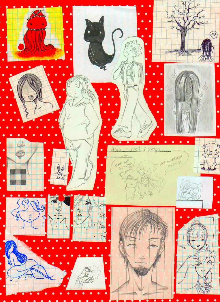 Fanart Doodles by NanakoHarrison