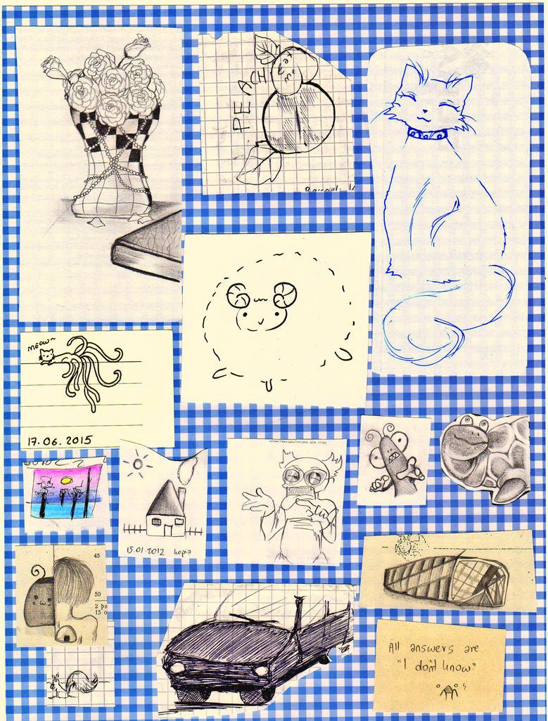 Random doodles by NanakoHarrison