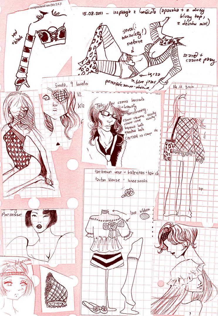 FASHION DOODLES by NanakoHarrison