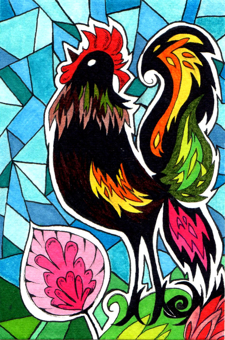 Year of The Rooster by NanakoHarrison