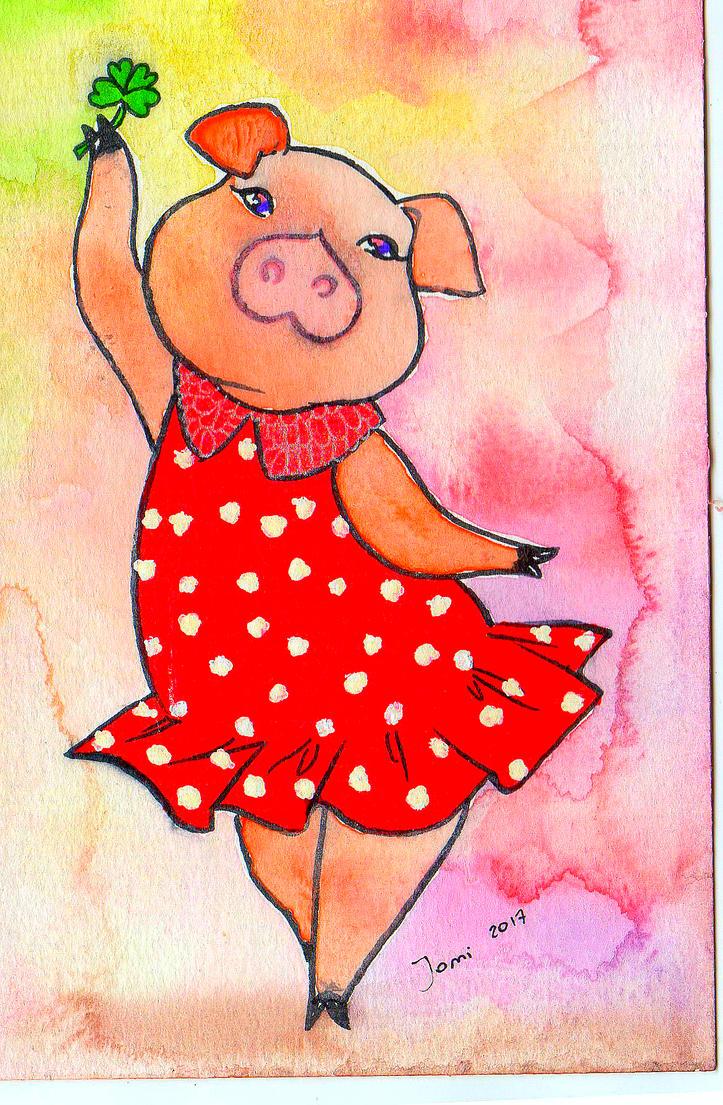 Piggy (2) by NanakoHarrison