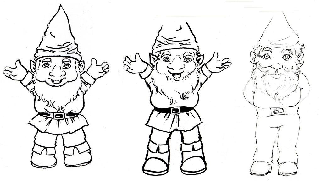 The Gnome Evolution by NanakoHarrison