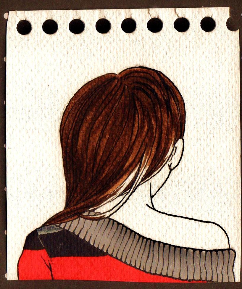 Bare shoulder by NanakoHarrison