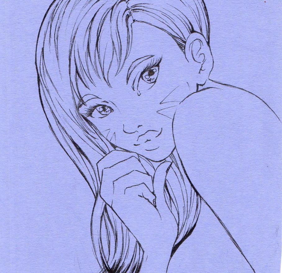 Lineart Dva by NanakoHarrison