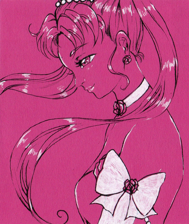 Lineart Usagi In Pink by NanakoHarrison