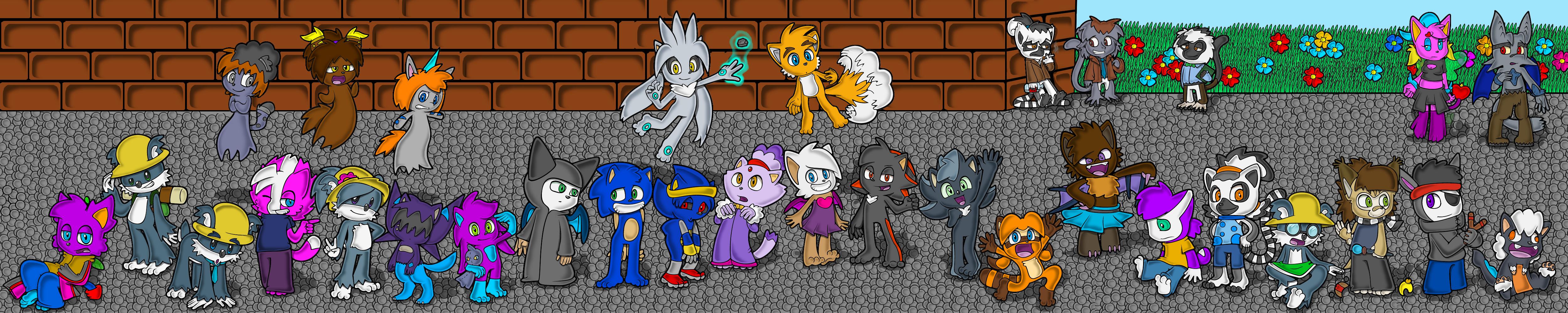 Sonic kids by Animatics