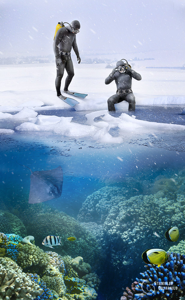 kiev sea by StanOd