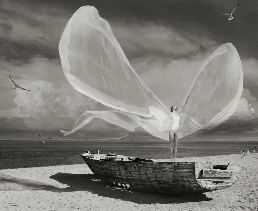 ... to catch a wind