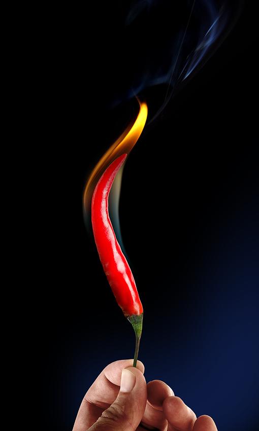 red hot chilean pepper