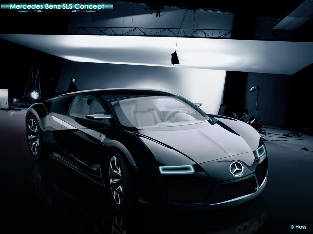 Mercedes Benz SLS Concept by Hossworks
