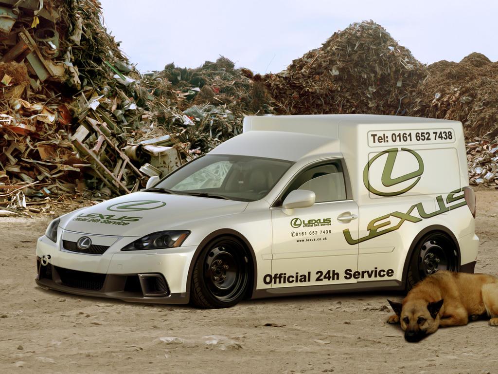 Lexus IS Repair Service Van by Hossworks