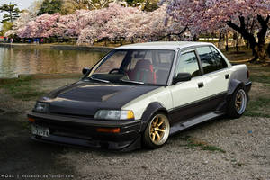 Honda Civic Sedan '86 by Hossworks