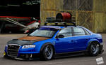 Audi RS4 Crazy Style