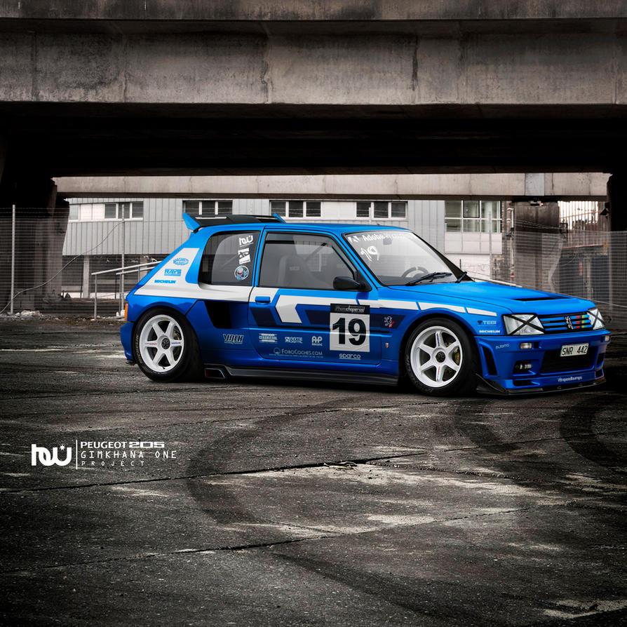 Peugeot Car Wallpaper: Peugeot 205 T16 GYMKHANA By Hossworks On DeviantArt