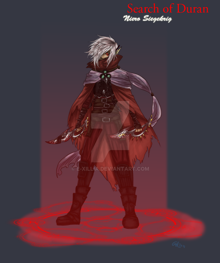 Niero Character Design by Etude-Xillia