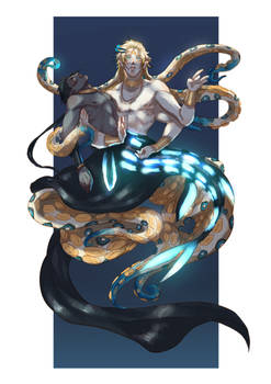 Octopus and the Lanternfish