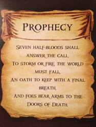 The Second Great Prophecy from PJatO by Artemis015