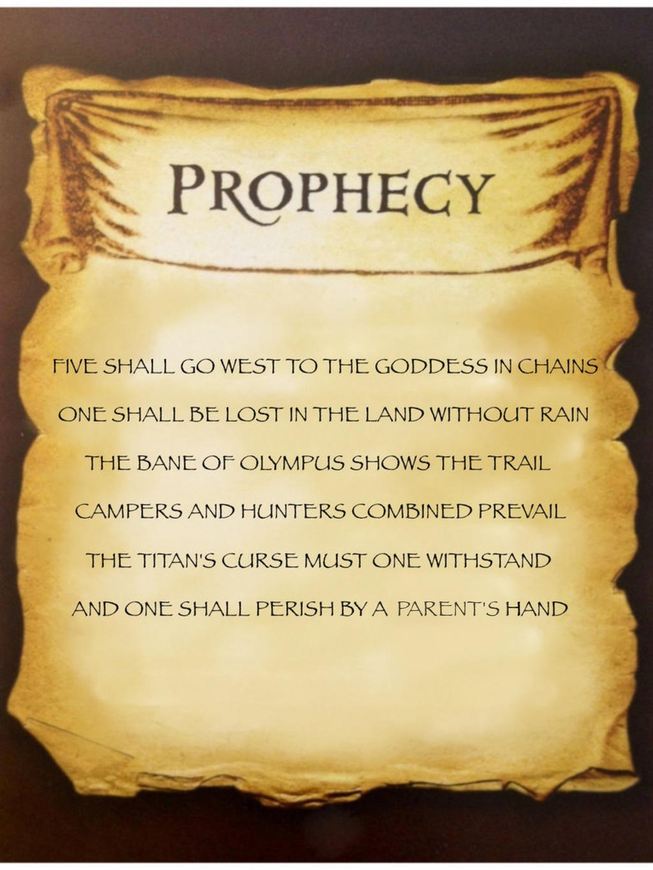 Zoe Nightshade's Quest Prophecy by Artemis015