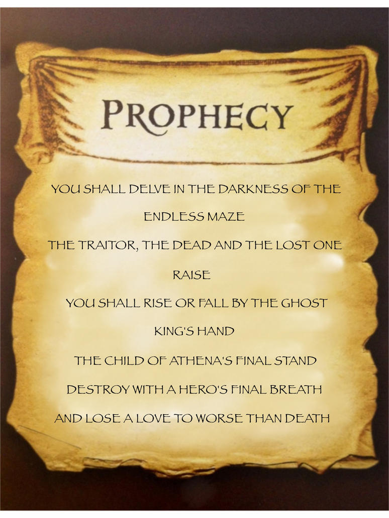 Annabeth's Quest Prophecy by Artemis015