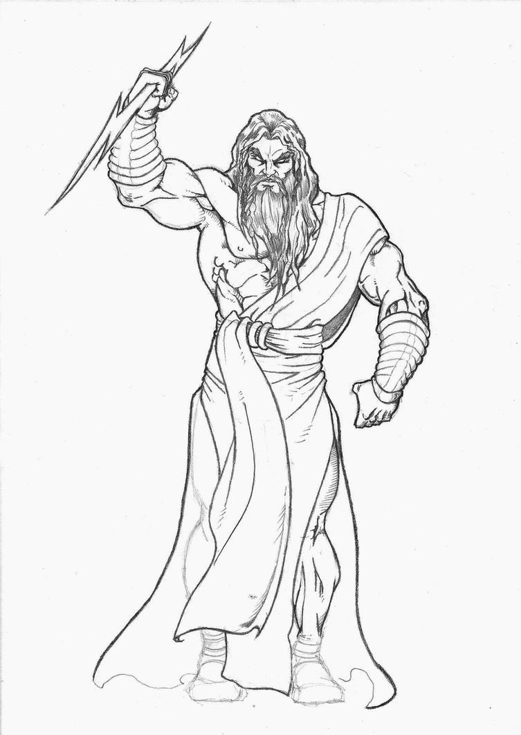 Zeus-inacabado 2 by Frankesley on DeviantArt
