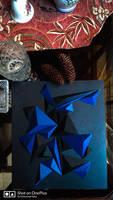 Geometric paper cut design  by razorx2
