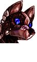 Pet button - headshot - bottom by shadowspirit07