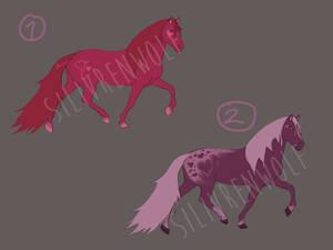 Valentine Equine Adoptables [ OPEN ]