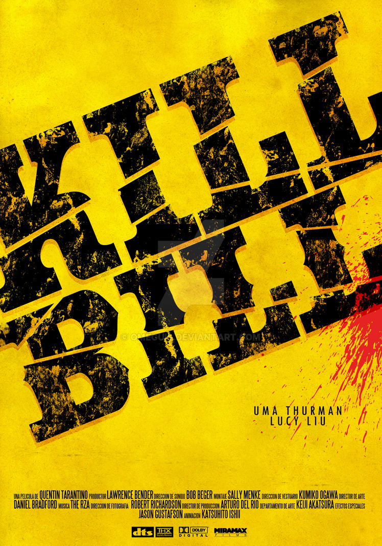 kill bill movie poster 2 by omeguis on deviantart. Black Bedroom Furniture Sets. Home Design Ideas