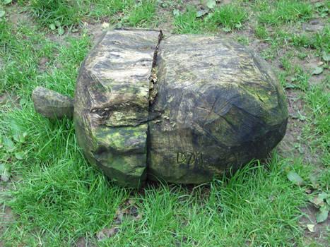 A giant... acorn? xD