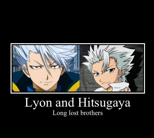 Lyon and Hitsugaya Motivational Poster by TeezTheWammyGamer