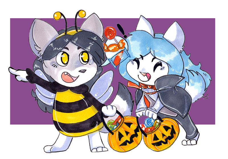 YCH Candy Hunting by CritterKat