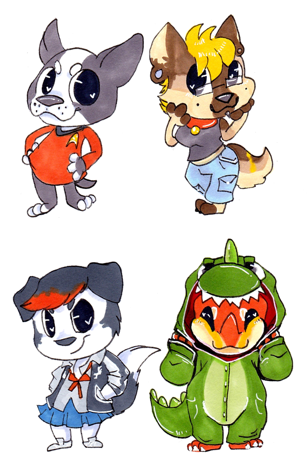 Comm Cheebs 02 by CritterKat