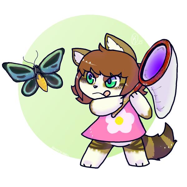 Bug Catcher [YCH] by CritterKat
