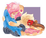 Cuddly Jude [Art Trade]