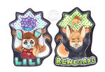 Couple of Roos [Item Badge Commission]