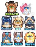 FurbSona Badges 2018 [Commission]