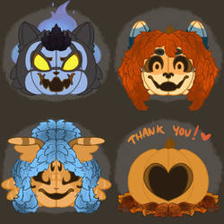 Pumpkin Head Icons [Part 4]
