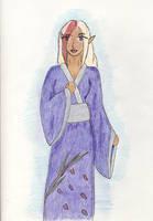 Kamiki in a Kimono by kamiki