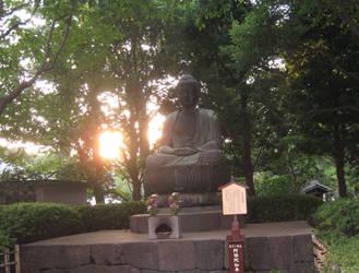 Buddha - Asakusa Temple by kamiki
