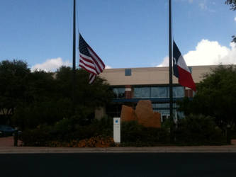 RIP Steve Jobs, Apple Austin by kamiki