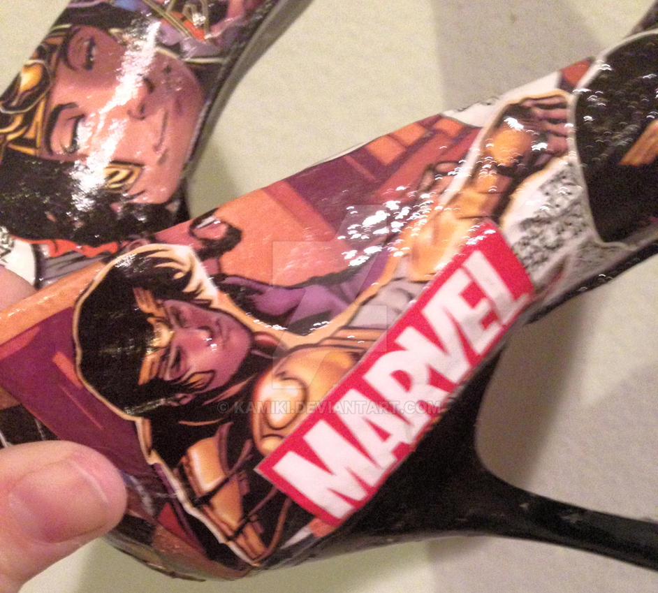 Custom Loki Comic Shoes #2 by kamiki