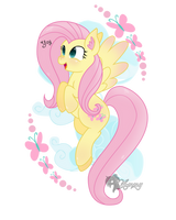 Fluttershy by Zombies-Pudding