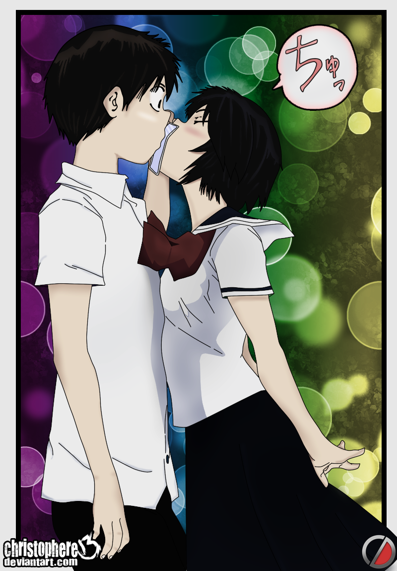 Mysterious Girlfriend X Kiss By Christophere13