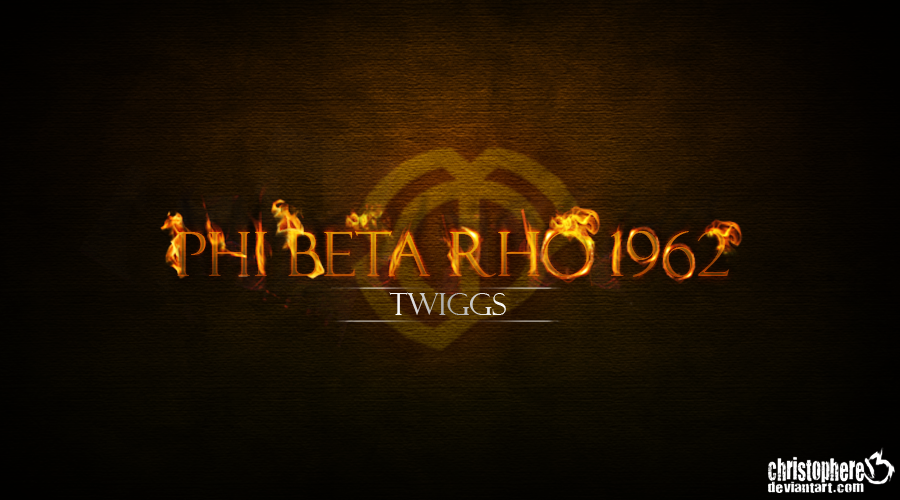 PHI BETA RHO 1962 by Christophere13