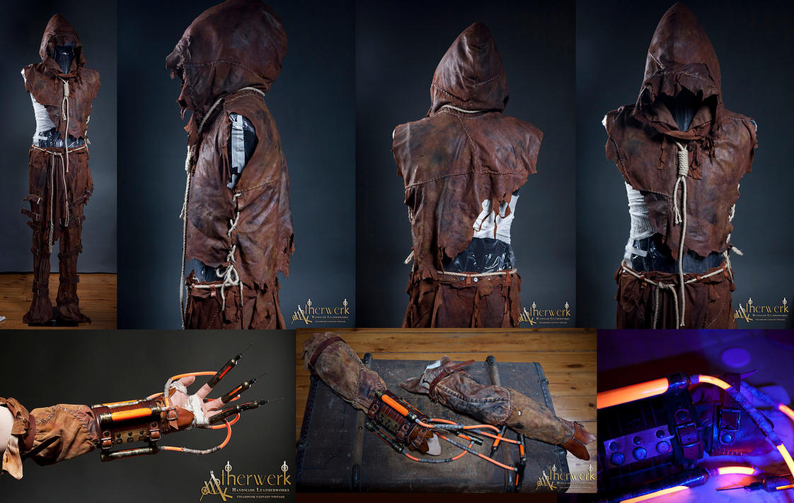 Custom Made  Complete ScareCrow Costume by Aetherwerk ... & Custom Made : Complete ScareCrow Costume by Aetherwerk on DeviantArt