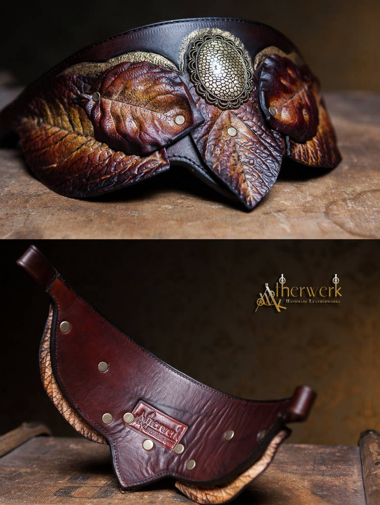 Horse Browband for a Harness by Aetherwerk