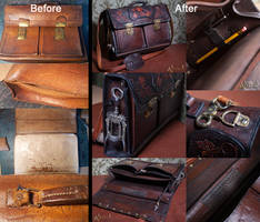 Restoration of an old Briefcase