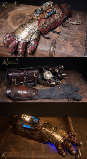 Ornate Steampunk Gauntlet