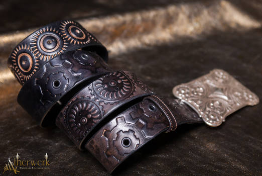 Steampunk Belt Black
