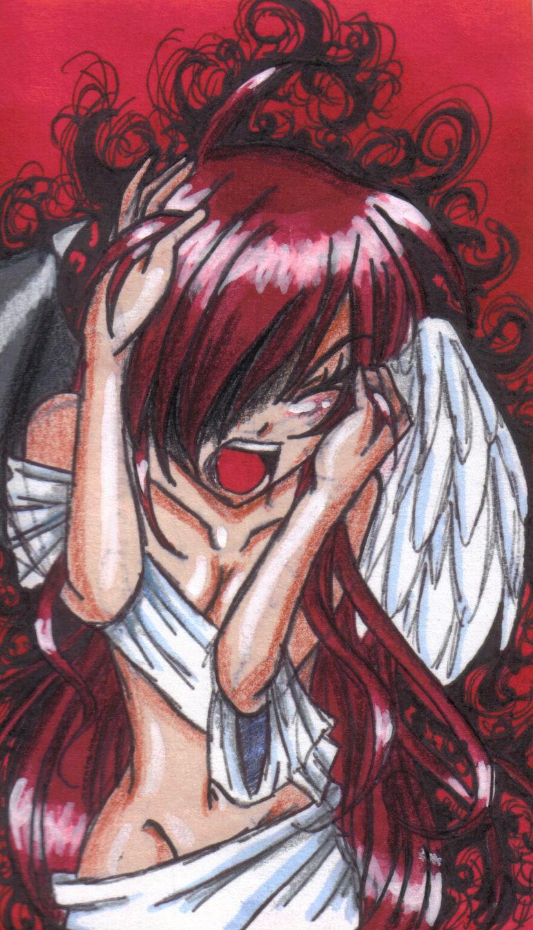 Angel vs. Demon by RivenWings on deviantART